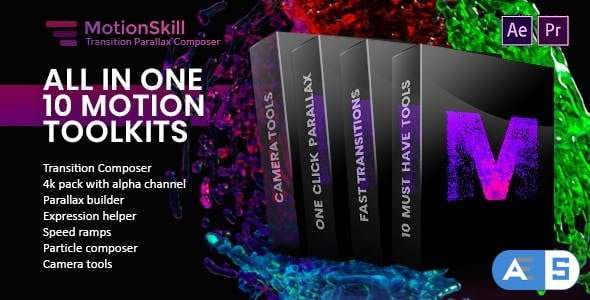 Videohive All in One Motion, Transition, Parallax, Expression ToolKit 23443787