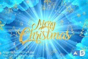 Videohive – Heavenly Christmas Promo – Apple Motion – 25157545