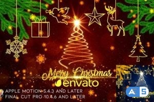 Videohive – Christmas Wishes – Apple Motion – 25012245