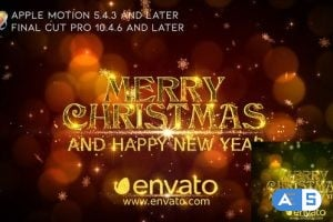 Videohive – Merry Christmas Wishes – Apple Motion – 25012230