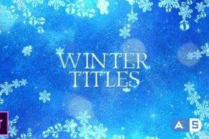 Videohive – Winter Titles – Premiere Pro – 25045449