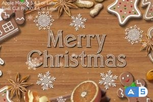 Videohive – Christmas Cookies Promo – Apple Motion – 25132683