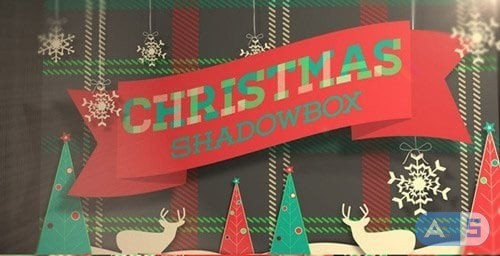 Videohive – 6012995 – Christmas Shadowbox Display