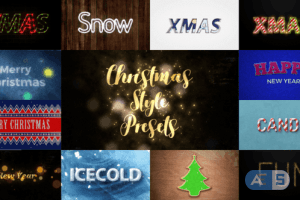 Videohive – Christmas styles – 22868450