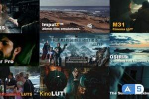 LUTs Collection: VisionColor – ImpulZ / KinoLUT by Cineplus / ColorGHear Pro/ Osiris etc..