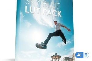 Bounce Color – SKY BLUE LUT Pack / All Cameras