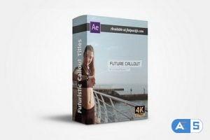 FlatPackFx – Modern Callout Pack – After Effects