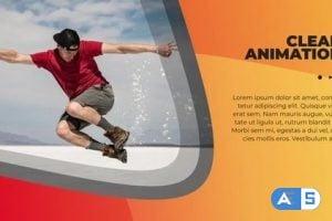 MotionArray Clean Modern Slideshow 329486