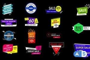 MotionArray Sales Badges 3.0 328509