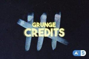 Videohive – Grunge Credits – 24711804