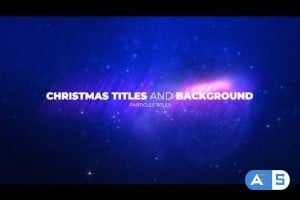 Videohive – Christmas Opener with Particles – 25128458