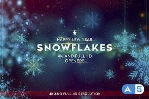 Videohive Snowflakes 4K Openers 13599466