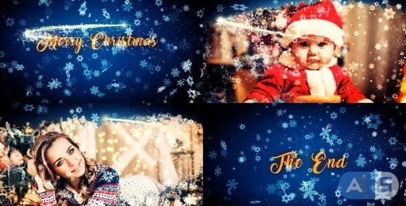 Videohive – Merry Christmas Slideshow – 18948528