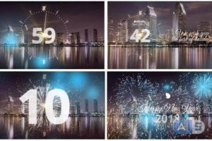 Videohive – Silver New Year Countdown 2018 – 20881545