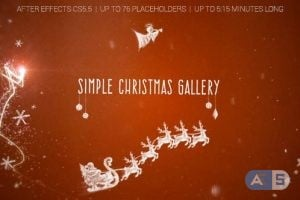 Videohive – Simple Christmas Gallery – 18749864