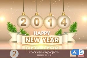 VideoHive New Year Greetings 6295638