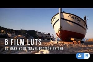 6 Film LUTs for travel video 2045142