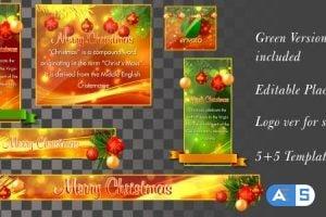 Videohive – Christmas Lowerthirds – 6151045