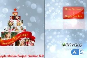 Videohive – Christmas Greetings – Apple Motion – 6276490