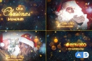 Videohive – Christmas Memories – Slideshow – 18894105