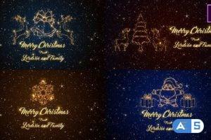 Videohive – Christmas Short Greetings Premiere – 25173910