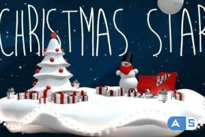 VideoHive Christmas Star 13936120