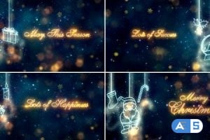 Videohive Christmas Titles 18808841
