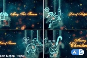 Videohive – Christmas Titles – Apple Motion – 21003754