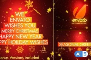 Videohive – Christmas Wishes-Typography – 3517267