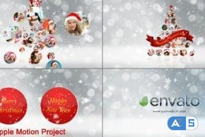 Videohive – Christmas Wishes Opener Multi Video Image – Apple Motion – 18955707
