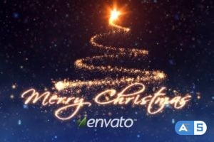 Videohive – Christmas Angels – 6229046