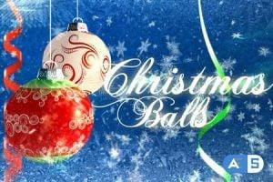 VideoHive Christmas balls 143910