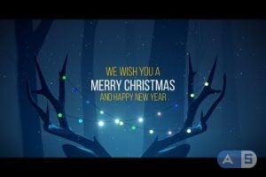 Videohive – Christmas Deer – 18928647