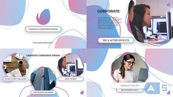 VideoHive Cinematic Corporate Promo 24857162