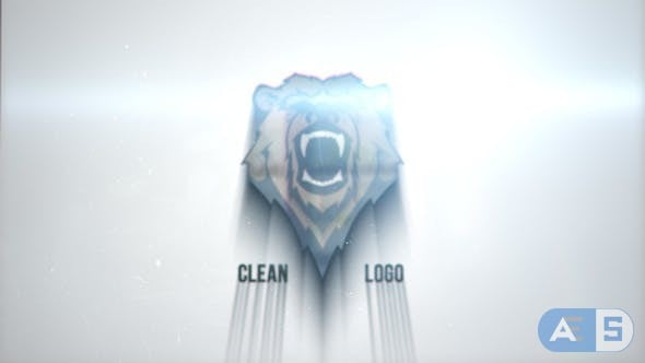 Videohive – Clean Glitch Logo – 22866726