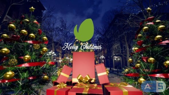 Videohive – Christmas Night – 20903902