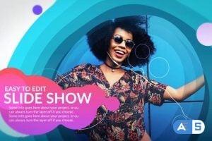 Videohive – Curves Slideshow – 25017243