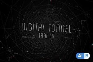 Videohive – Digital Tonnel Trailer – 15095511