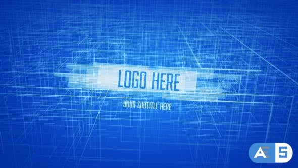 Videohive – Drawing Logo Reveal – 12025235