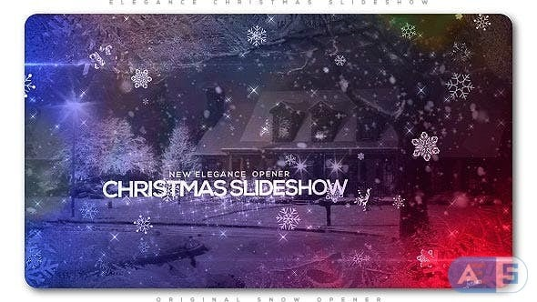 Videohive – Elegant Christmas Slideshow – 20903059
