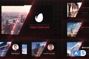 Videohive – Glass Business Card Slides – 14807974