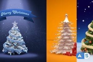 VideoHive – Christmas & New Year Greeting Card Design 3689617