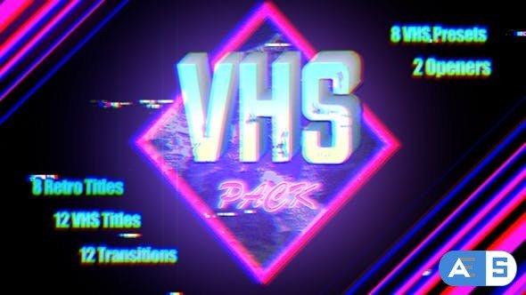 Videohive – VHS Pack | Final Cut – 22944448