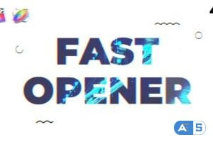 Videohive – Fast Opener   FCPX & Motion 5 – 22994417