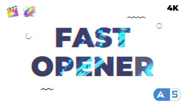 Videohive – Fast Opener | FCPX & Motion 5 – 22994417
