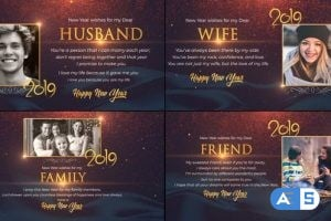 VideoHive New Year wishes for Loved Ones 23074208