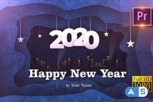Videohive – New Year Opener 2020 – Premiere PRO – 25138990