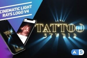 Videohive – Cinematic Light Rays Logo v4 – 25049658