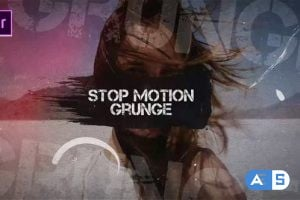 Videohive – Stop Motion Grunge – 25107398
