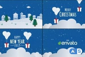 VideoHive Christmas Card 23047535